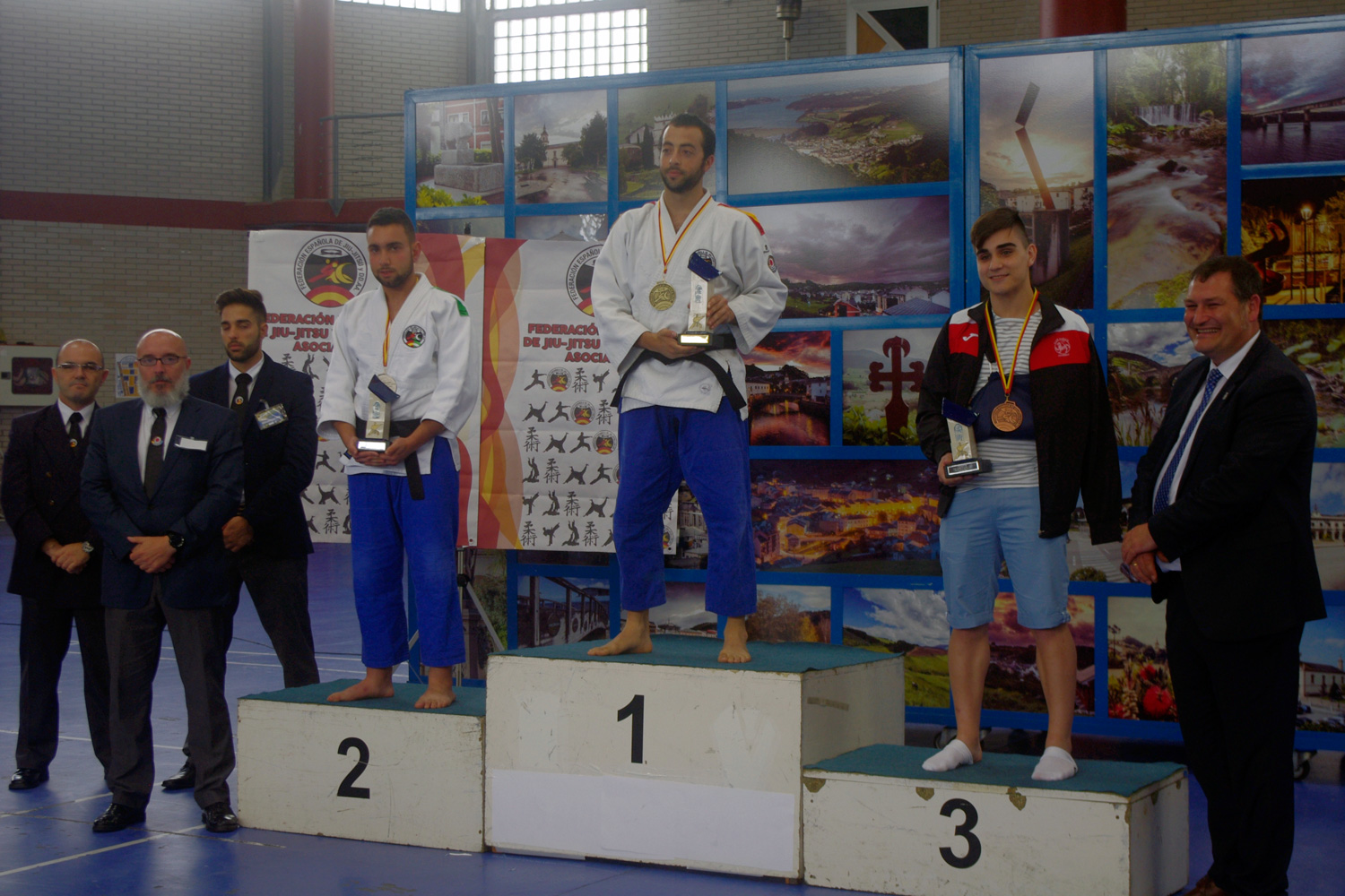 Podio Sport Fighting Cto. España 2016 - Masculino -75 kg
