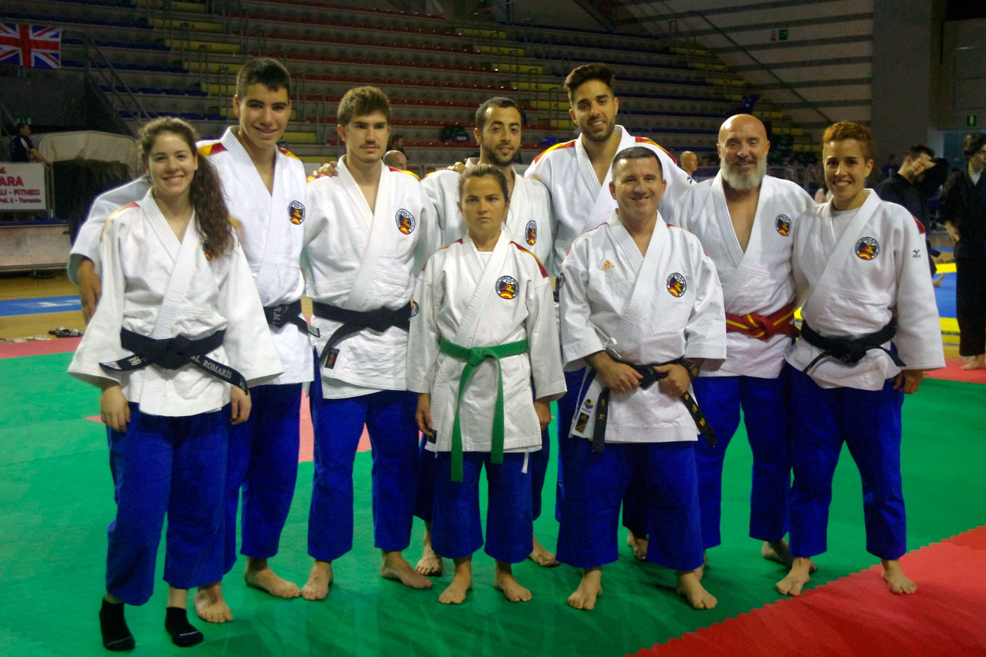 Equipo Español EC Random Attacks - Taranto Mayo 2016